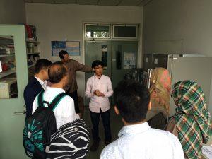 Kunjungan pihak BPMERU ke Laboratorium Fisiologi Hewan SITH