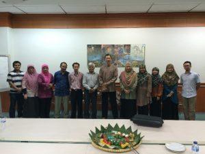 Foto bersama anggota KK ATB dengan BPMERU
