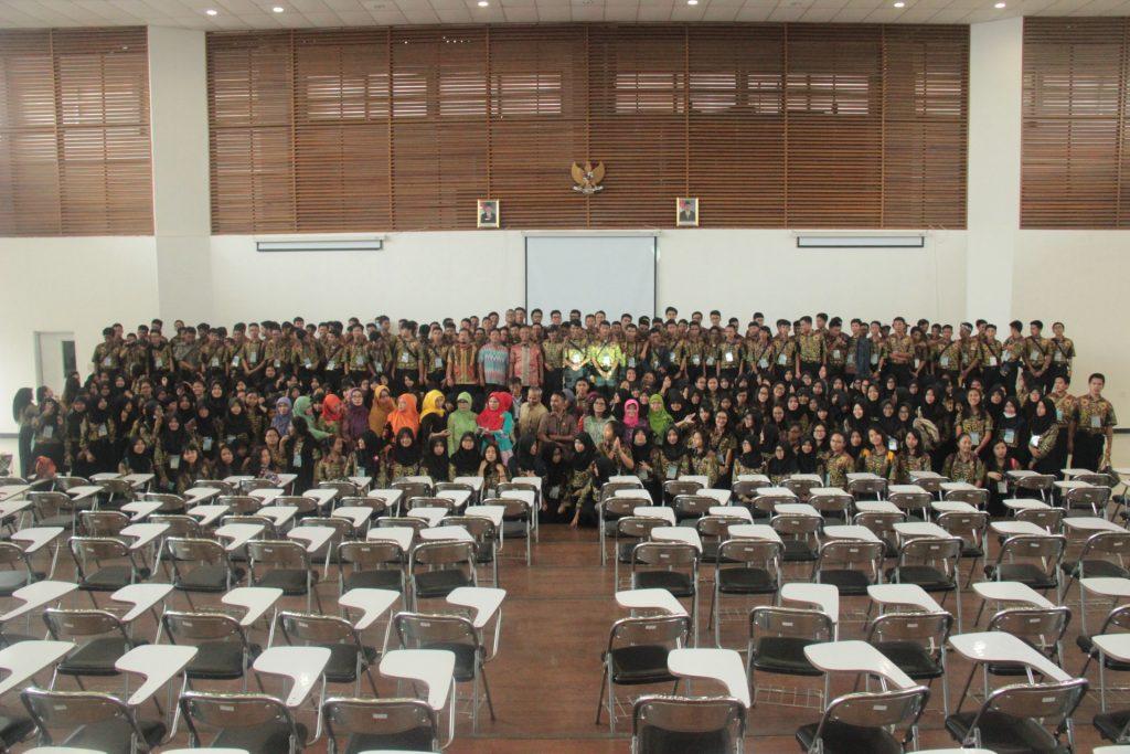 Kunjungan SMAN 3 Bogor ke Kampus ITB Jatinangor, 19 Januari 2016