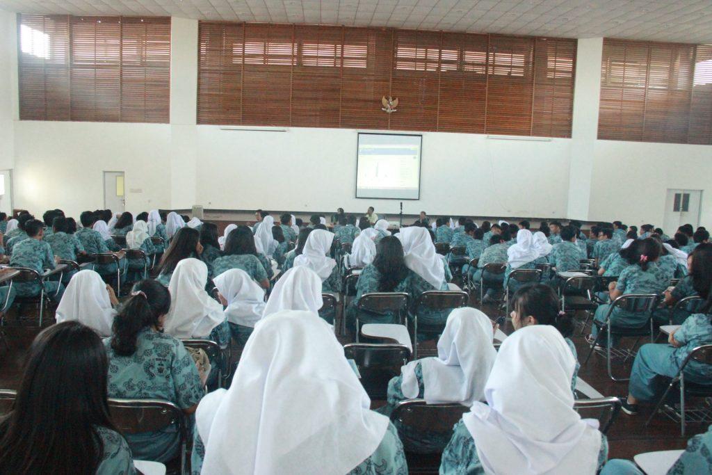Kunjungan SMAN 2 Bogor