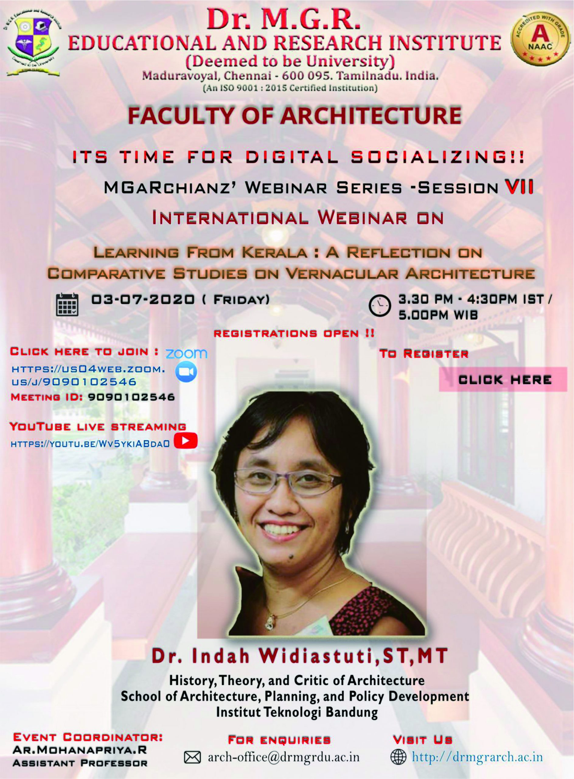 Indah Widiastuti: Learning from Kerala, A Reflection on Comparative Studies on Vernacular Architecture