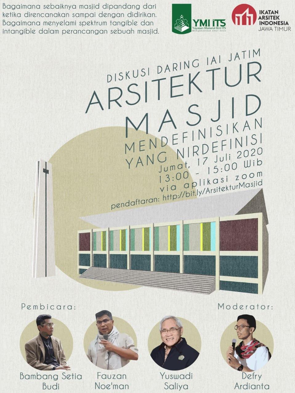 """""""Arsitektur Masjid – Mendefinisikan yang Nirdefinisi"""" oleh Bambang Setia Budi"""