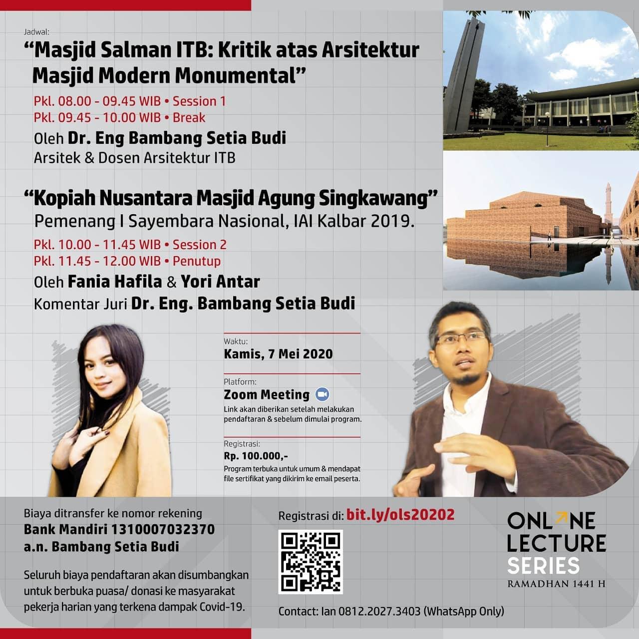 """Masjid Salman ITB: Kritik atas Arsitektur Masjid Modern Monumental"" oleh Bambang Setia Budi"