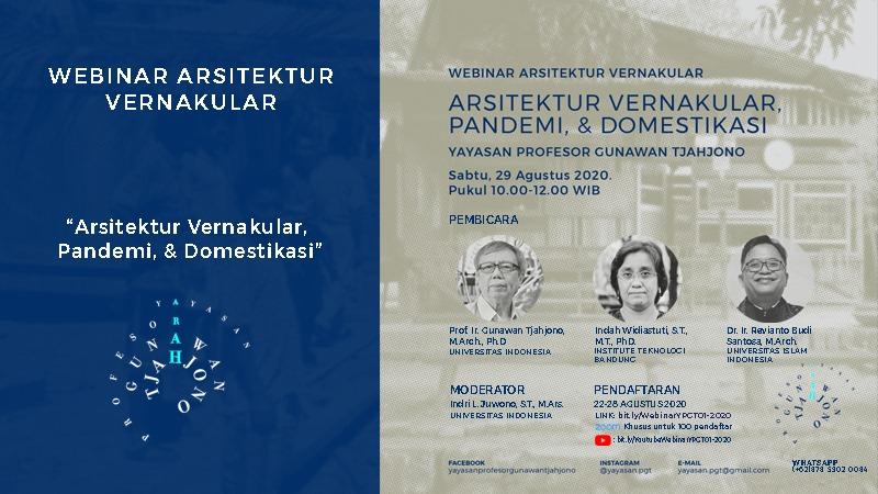 """""""Arsitektur Vernakular, Domestifikasi, dan Pandemi"""" oleh Indah Widiastuti"""