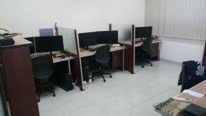 Computer room for analyzing sandbox model