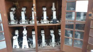 Polarization Microscope Units at Petrography Laboratory