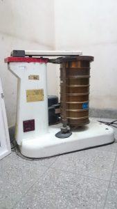Shaker for granulometry preparation