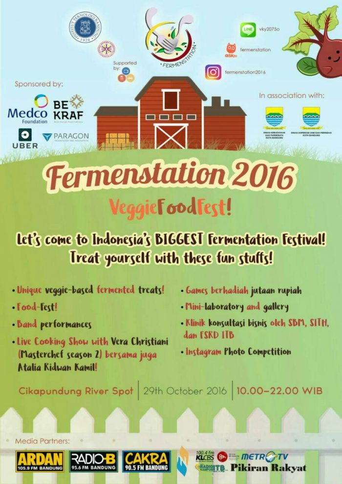 Fermenstation 2016 - Veggies Food Fest!