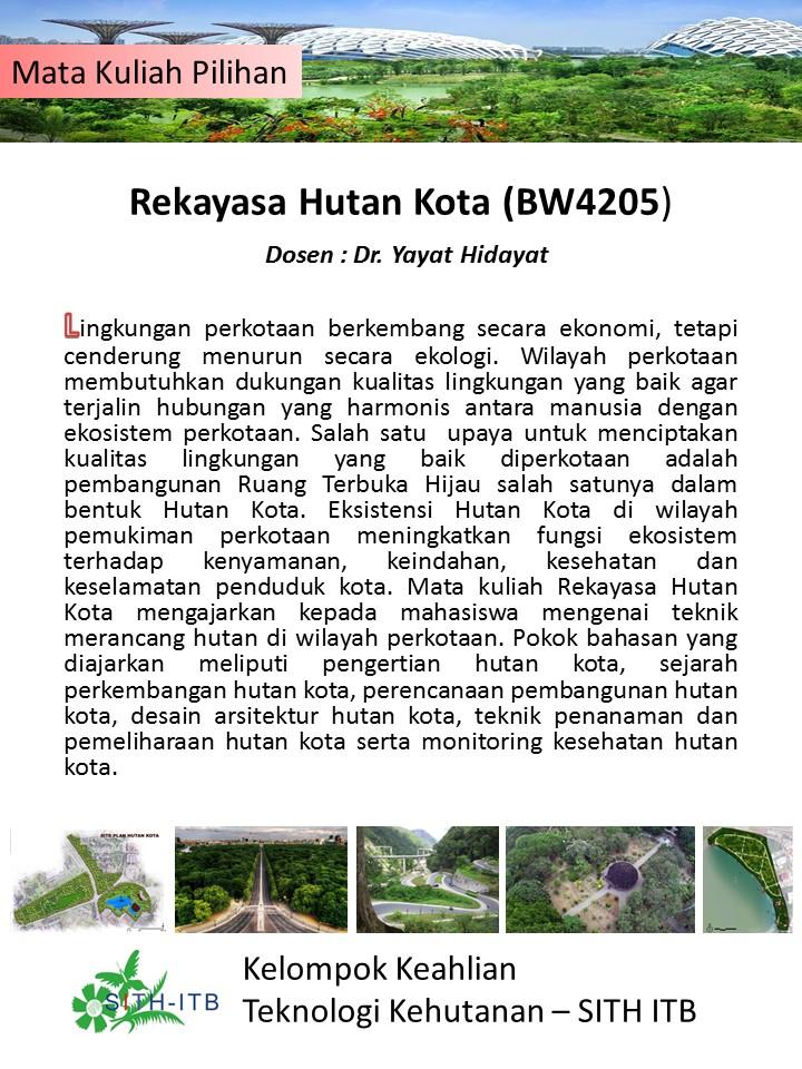 Rekayasa Hutan Kota