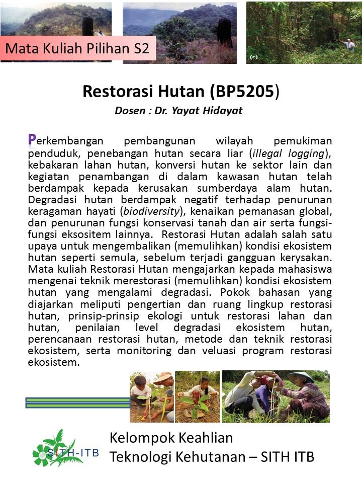 Restorasi Hutan